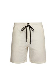 Solid And Striped The Longboard Swim Shorts White