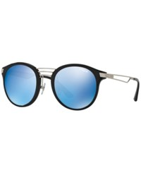 Vogue Eyewear Sunglasses Vo5132s Black Blue Mirror