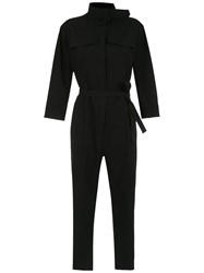 Egrey Long Sleeved Jumpsuit Black