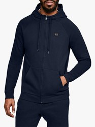 Under Armour Rival Fleece Training Hoodie Navy