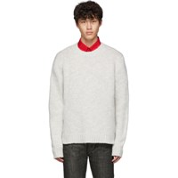 Helmut Lang Grey Ghost Marl Sweater