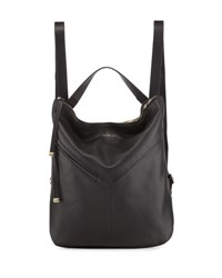 Furla Holly Leather Backpack Blue Onyx