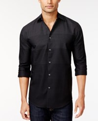 Alfani Black Ombre Dot Shirt Only At Macy's