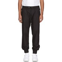 Dolce And Gabbana Black Poplin Track Pants