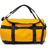 The North Face Base Camp Coated Canvas Holdall Yellow