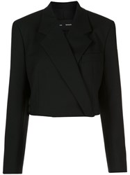 Proenza Schouler Button Front Cropped Blazer 60