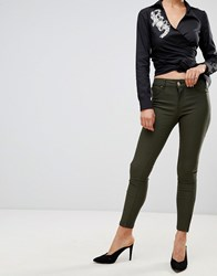Forever Unique Skinny Jeans Green