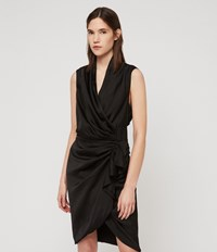 Allsaints Cancity Dress Black