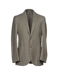 Lubiam Suits And Jackets Blazers Dark Brown