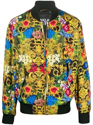 Versace Jeans Couture Floral Print Bomber Jacket 60
