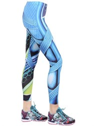 Adidas Originals By Mary Katrantzou Printed Lycra Leggings