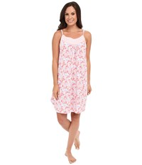 Carole Hochman Printed Chemise Crowded Floral Women's Pajama Pink