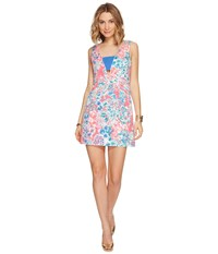 Lilly Pulitzer Cassa Shift Tiki Pink Gypsea Pink Women's Dress Multi