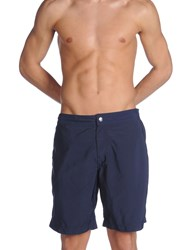 Brunello Cucinelli Swim Trunks Dark Blue