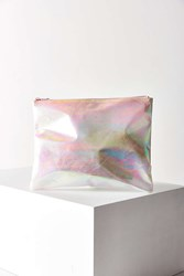 Urban Outfitters Iridescent Pouch Pink