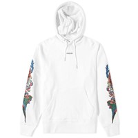 Vanquish Embroidered Detail Popover Hoody White