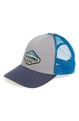 Patagonia 'Fitz Roy Crest' Trucker Hat Feather Grey