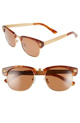 Freida Rothman 'Charlies' 55Mm Retro Sunglasses Tortoise