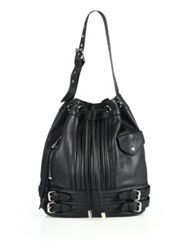Linea Pelle Rowan Leather Bucket Bag