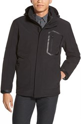 Vince Camuto 3 In 1 Softshell Jacket With Removable Liner Black