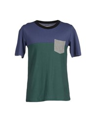 Band Of Outsiders Topwear T Shirts Men Green