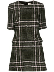 Mulberry Jeanna Checked Dress Green