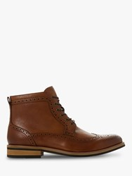 Bertie Maynor Leather Boots Tan