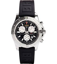 Breitling Colt Chronograph Stainless Steel And Rubber Watch