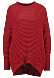 Object Objmaries Jumper Rosewood Red