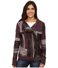 Royal Robbins Tambo Cardi Blackberry Women's Sweater Burgundy