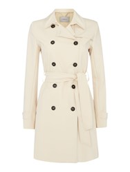 Marella Paloma Longsleeve Belted Trench Coat Red