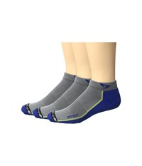 Drymax Sport Speedgoat Lite Trail Mini Crew 3 Pack Royale Anthracite Low Cut Socks Shoes Blue