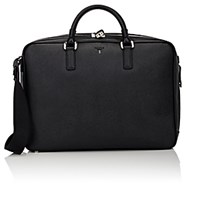 Serapian Men's Evolution Briefcase Black Blue Black Blue