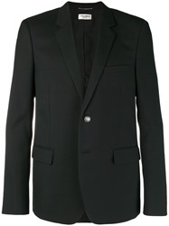 Saint Laurent Slim Fit Suit Jacket Black
