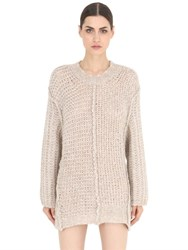 Maison Martin Margiela Wool And Alpaca Knit Pullover Sweater