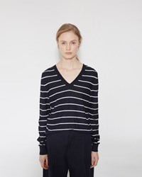 Marni V Neck Sweater Ultramarine