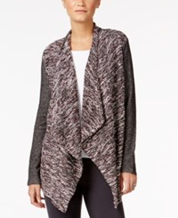 Styleandco. Style Co. Mixed Media Open Front Jacket Only At Macy's New Red Amore