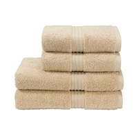 Christy Plush Towel Fawn Bath Sheet