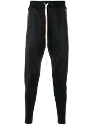 Represent Side Striped Track Pants Black