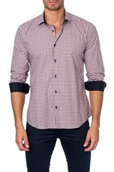 Jared Lang Colorblock Semi Fitted Shirt White