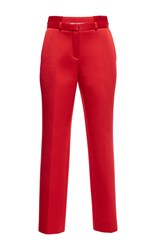 Givenchy Technical Satin Trousers Red