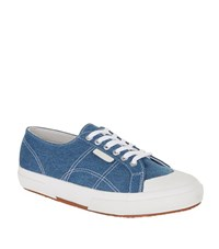 Sandro Vintage Denim Sneakers Male