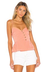 House Of Harlow X Revolve Renata Top Coral
