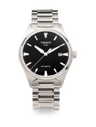 Tissot Leslie Stainless Steel Automatic Watch Silver