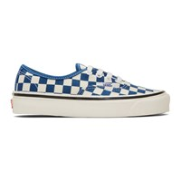 Vans Blue And Off White Anaheim Factory 44Dx Sneakers