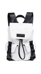 Kendall Kylie Parker Small Backpack White Camo