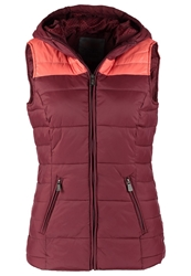Fresh Made Waistcoat Dark Red Bordeaux