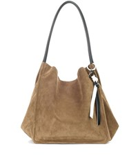 Proenza Schouler Extra Large Suede Tote Brown