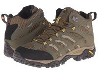 Merrell Moab Mid Waterproof Olive Men's Hiking Boots