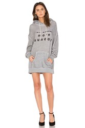 Wildfox Couture 3 Day Weekend Hoodie Gray